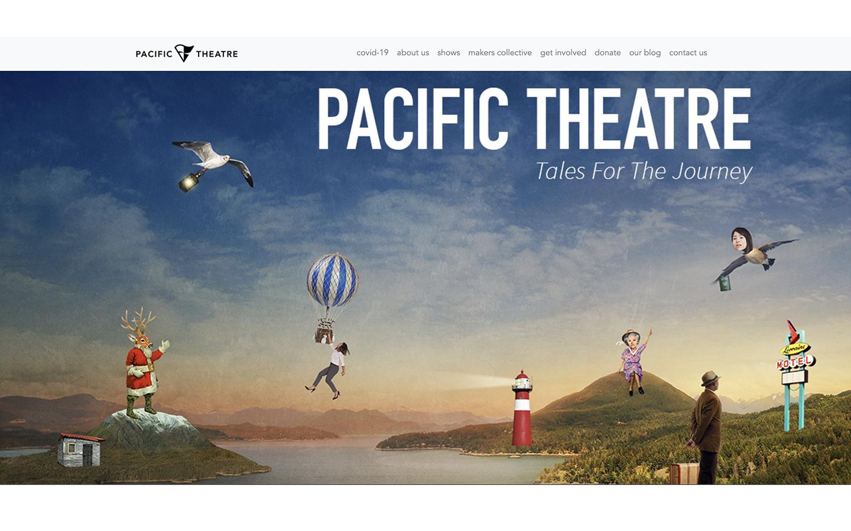 Custom Wordpress Theme Development for Pacific Theatre, a theatre company